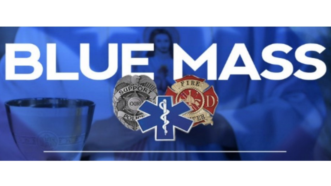 Blue Mass Honoring Public Safety Workers on Sept 10th @ 7 P.M.